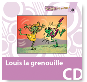 Louis la grenouille - Audio CD