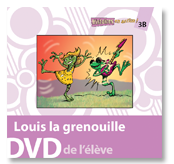 Louis la grenouille - Student DVD (minimum of 10)
