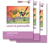 Louis la grenouille - Student Workbooks (minimum of 10)