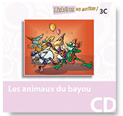 Les animaux du bayou - Audio CD