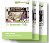 Un frère pénible - Student Workbooks (minimum of 10)