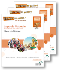 La poule Maboule *New 2018 Edition - Student Workbooks (minimum of 10)