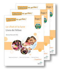 Le chat et la lune *NEW 2018 Edition - Student Workbooks (minimum of 20)