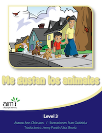 Me gustan los animales - Reader (minimum of 6)