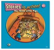 The Three Little Pigs - Audio CD