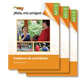 ¡Hola, mis amigos! - Student Workbooks (minimum of 20)