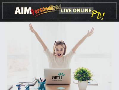 NEW! Up your game with AIM! Next steps after Beginner - Live Online AIM Teacher Training - SPRING SESSION