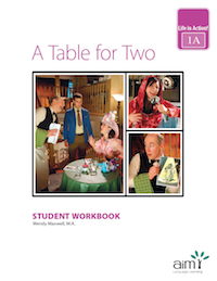 A Table for Two - Student Workbooks (minimum of 10)