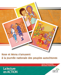 Rose et Mona s'amusent à la Journée nationale des peuples autochtones - Readers (minimum of 6)