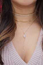 Slim Thicc Thin Chain Necklace