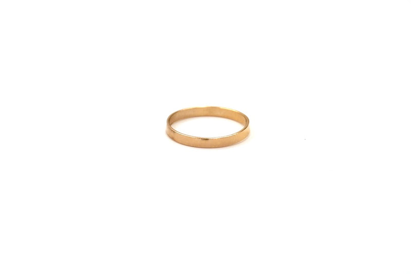 Flat Band Stacking Ring