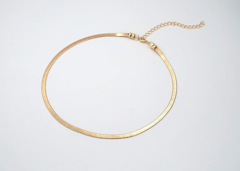 RiRi Herringbone Chain Necklace