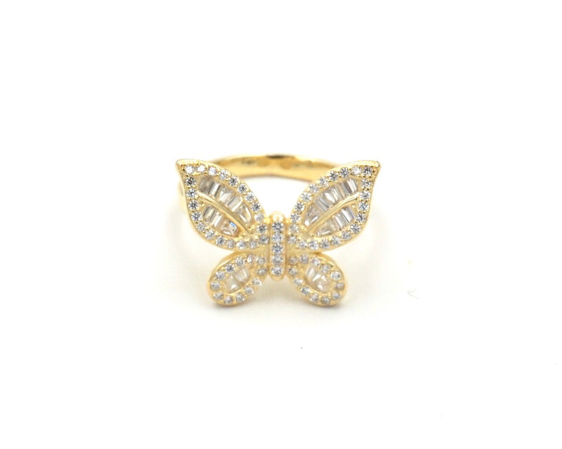 Butterfly Glam Ring
