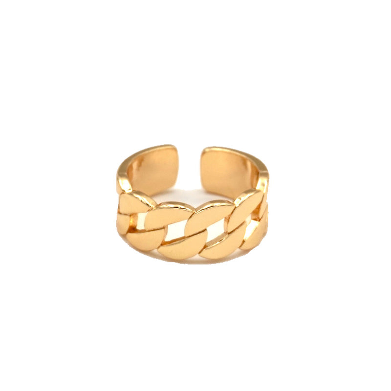 Smooth Curb Link Chain Ring