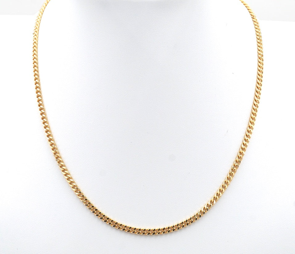 Slim Thicc Mini Chain Necklace