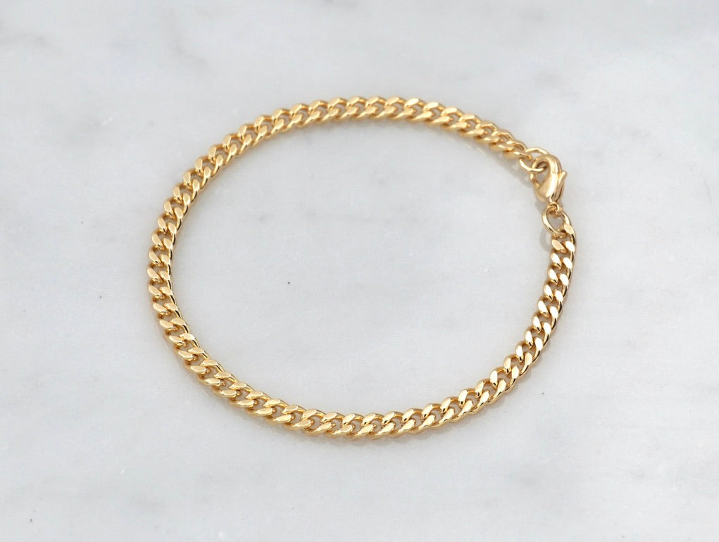 Slim Thicc Mini Chain Bracelet