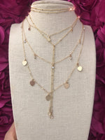 Rose All Day Bolo Wrap Necklace