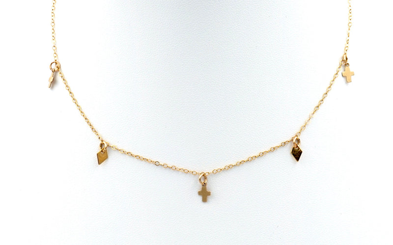 Faith Charm Choker