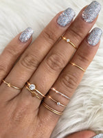 Star Stacking Ring Gold Filled