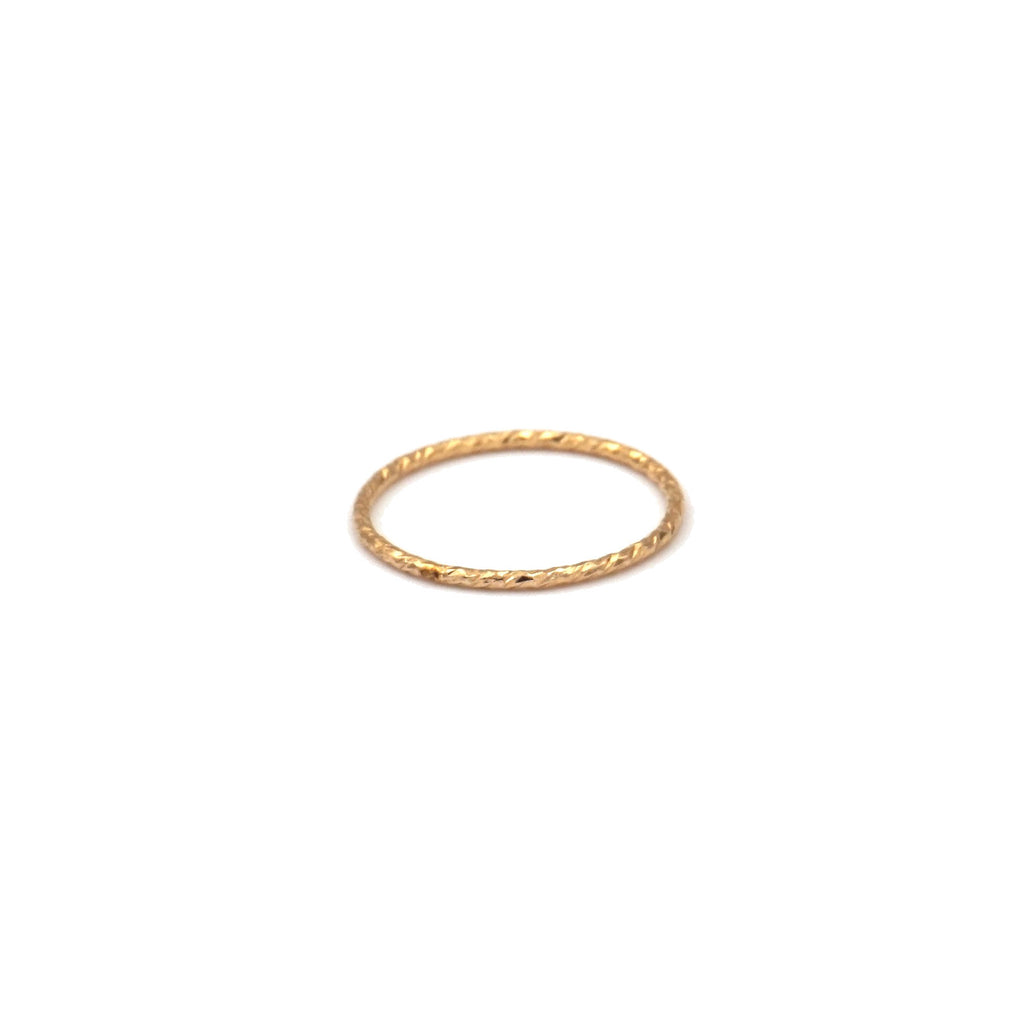 Sparkly Stacking Ring (Gold Filled, Rose Gold Filled, Sterling Silver)