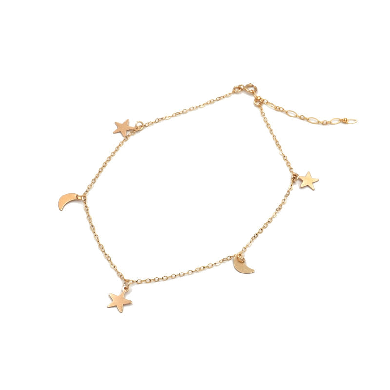 Star Moon Anklet