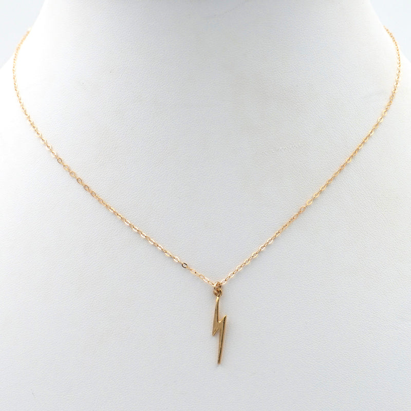 Lightning Bolt Dainty Necklace