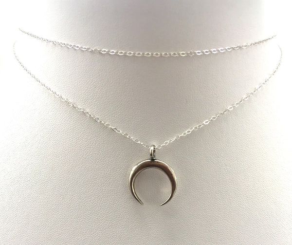 Moon Dance Choker, Sterling Silver