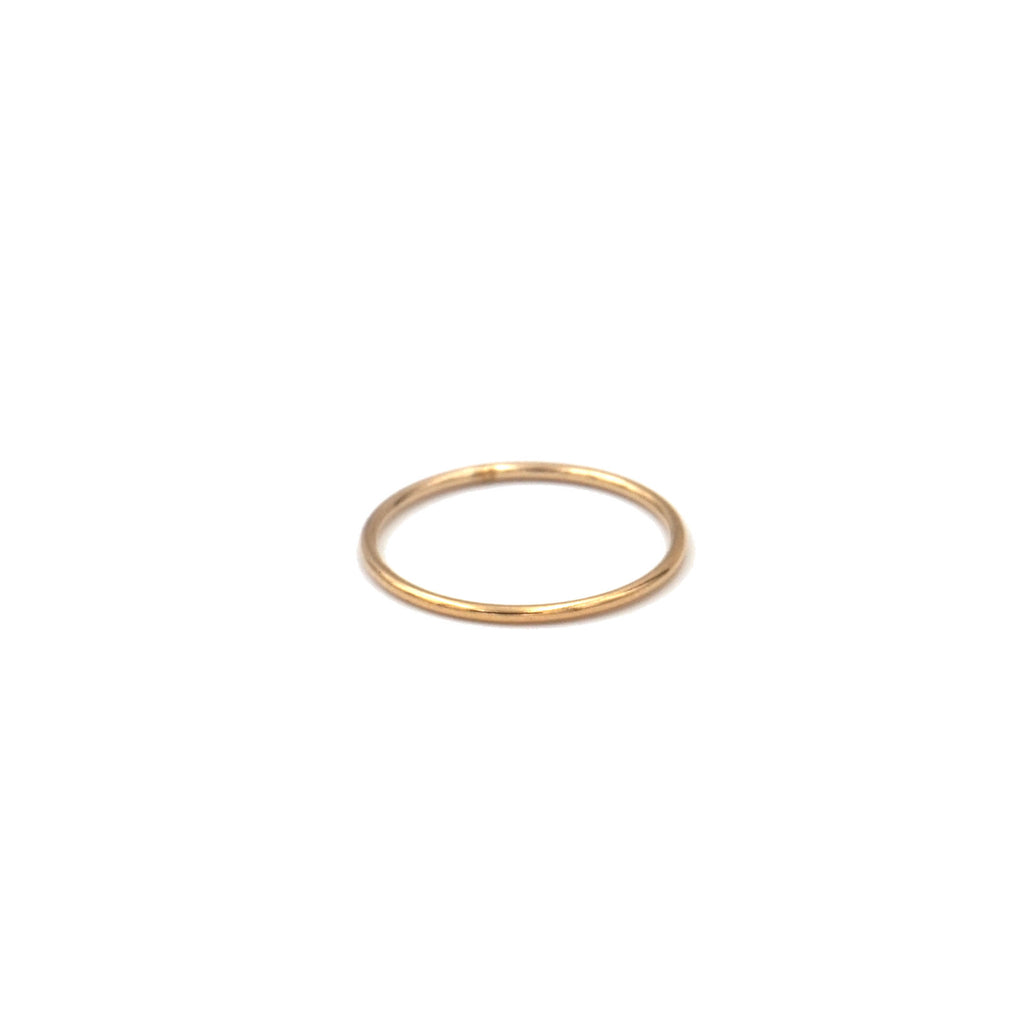 Smooth Stacking Ring (Gold Filled, Rose Gold Filled, Sterling Silver)