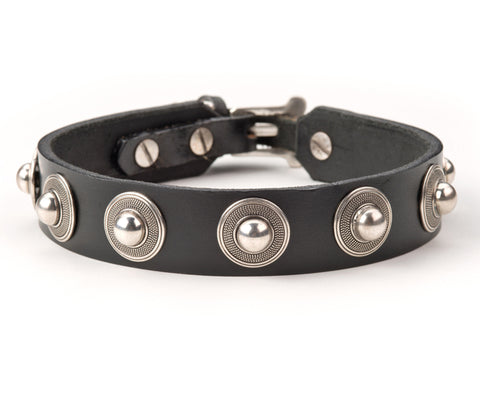 fuller leather dog collar