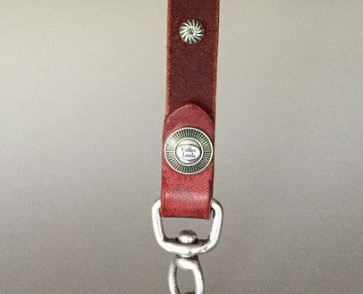 Collier Leeds Champ leather dog lead