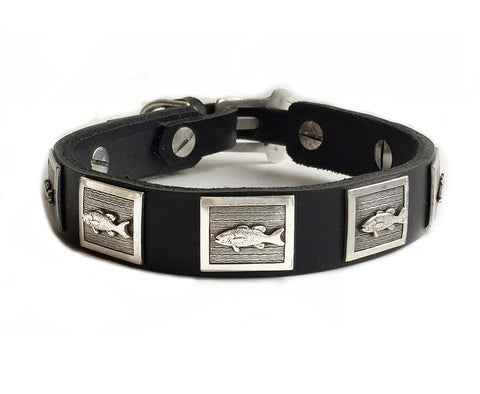 omar leather dog collar