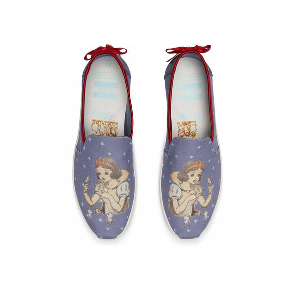 Disney X TOMS Snow White Bow Women's Deconstructed Alpargatas