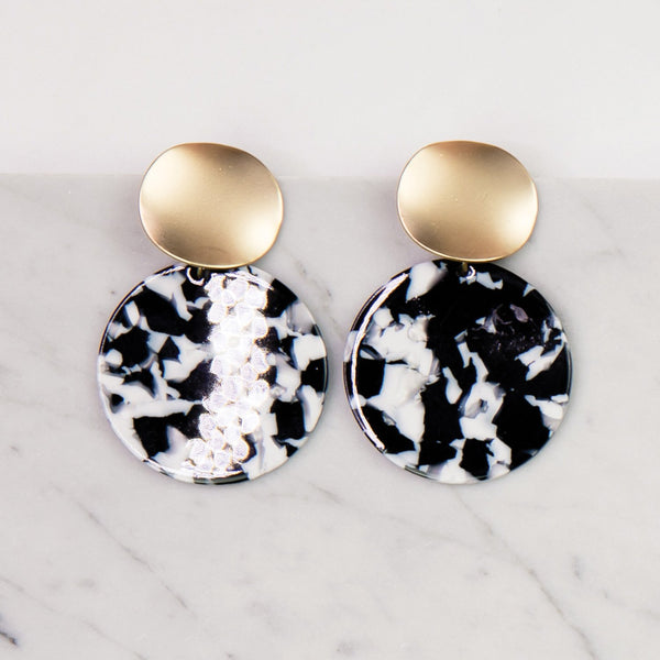 Barrington Black Earrings
