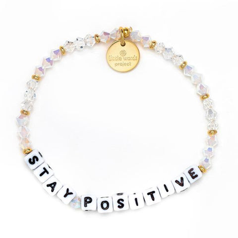 Little Words Project The Comeback - Stay Positive - White/Icy