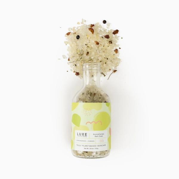 Aromatherapy Bath Soak - Lemongrass + Ginger