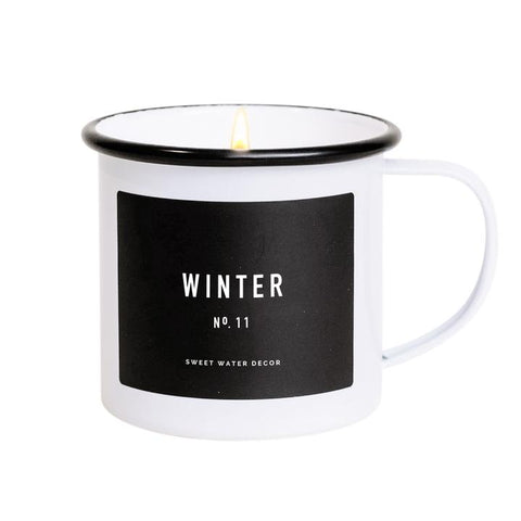 Mug Soy Candle - Winter
