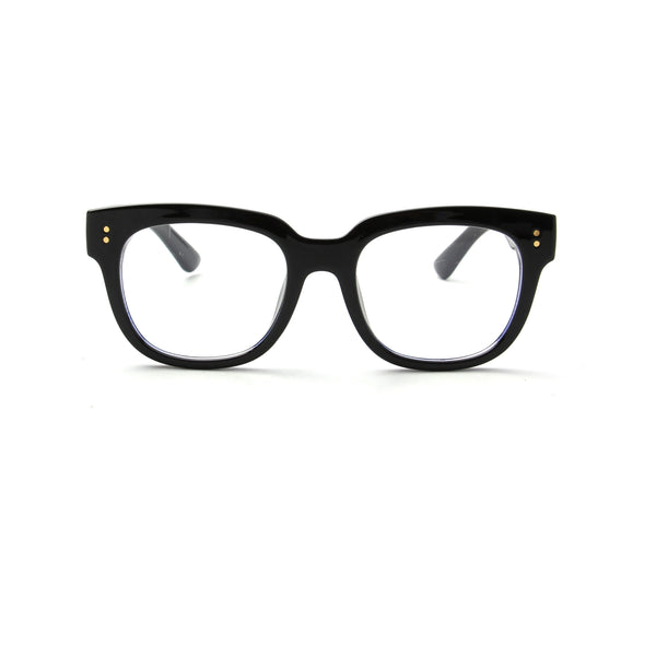 Swansea Classic Round Blue Light Blocker Eyeglasses