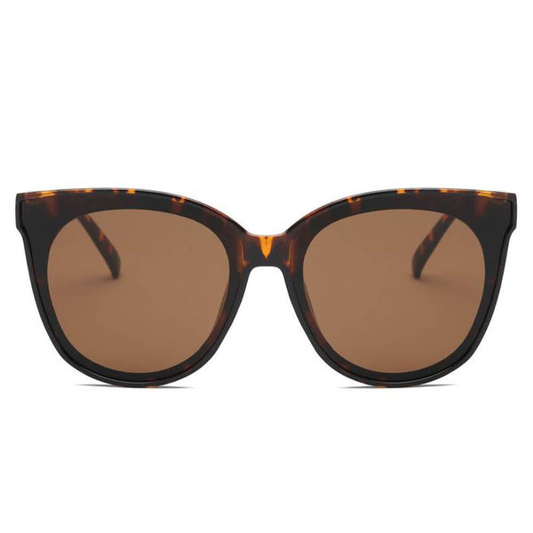 Garland Round Cat Eye Sunglasses - Tortoise