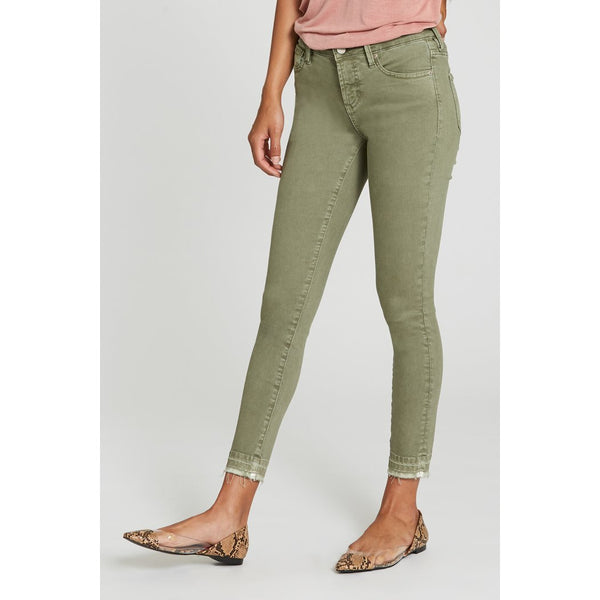 Gisele High Waisted Skinny - Watercress