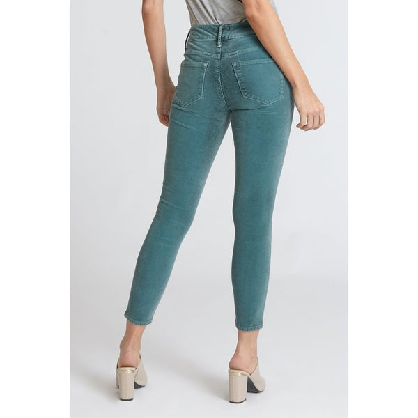 Gisele High Rise Corduroy Skinny - Green Bay