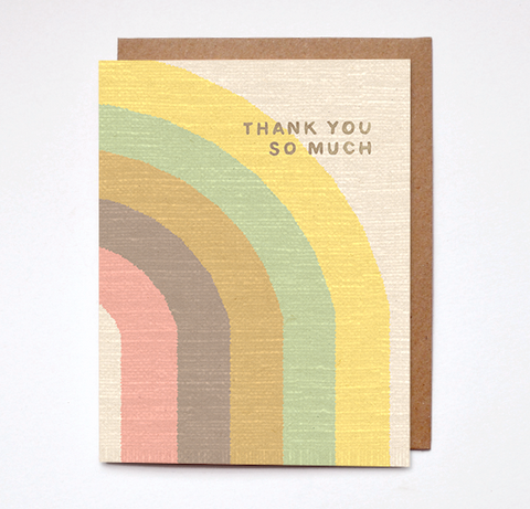 Thank You So Much - Card