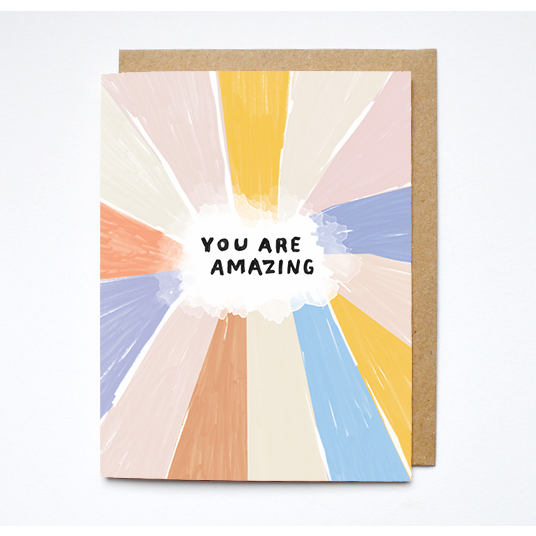 You Are Amazing - Card