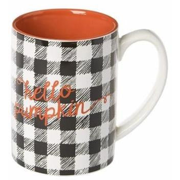 Ceramic Mug - Hello Pumpkin