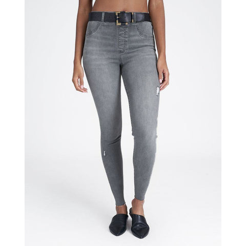 Vintage Grey Distressed Jeans - SPANX