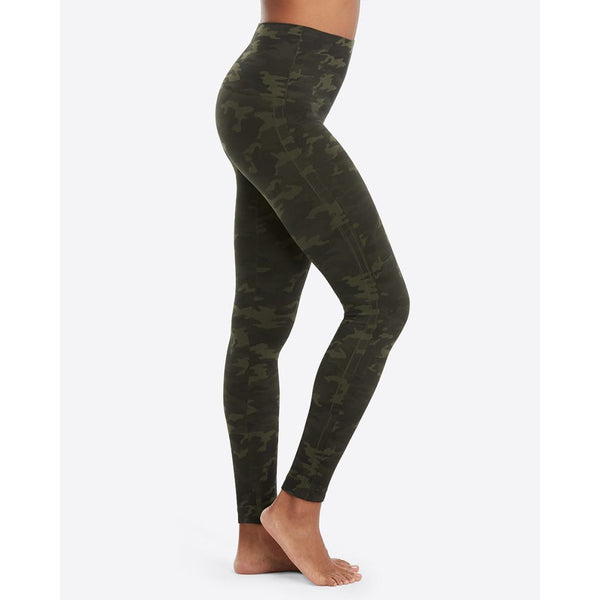 Look At Me Now Seamless Leggings SPANX - Green Camo