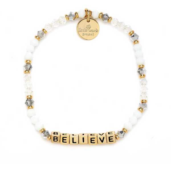 Little Words Project Believe - Empire with Gold