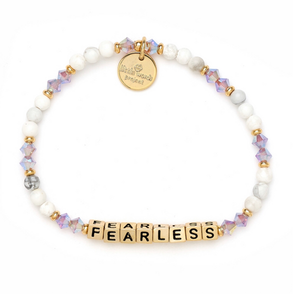 Little Words Project Fearless - Cream Puff with Gold