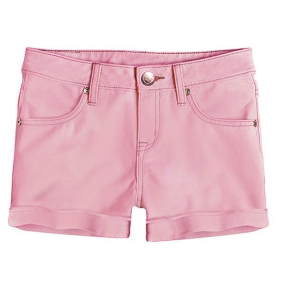 Pink Latte Stretch Shorts