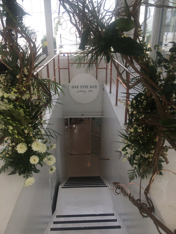 One Fine Day Bridal Show at Studio 450 New York - Cappellino Millinery