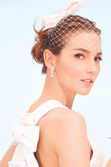 Capppellino Millinery Josephine Birdcage Veil in Bridal Guide